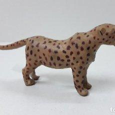 Figuras de Goma y PVC: LEOPARDO . REALIZADO POR ARCLA . ORIGINAL AÑOS 50 EN GOMA. Lote 225118127