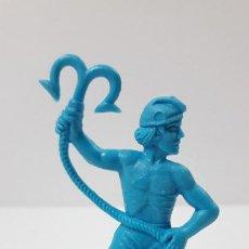 Figuras de Goma y PVC: PIRATA - CORSARIO . MOLDE REAMSA . REALIZADO EN PLASTICO MONOCOLOR. Lote 225250833