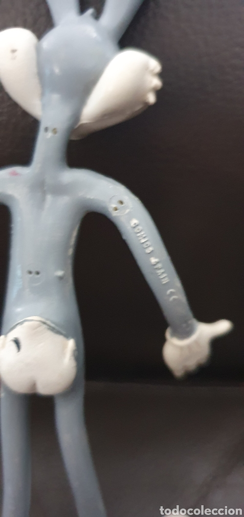Figuras de Goma y PVC: Figura BUGS BUNNY AÑOS 80 ALAMBRE FLEXIBLE COMICS SPAIN - Foto 4 - 225317240