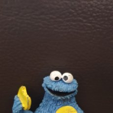 Figuras de Goma y PVC: FIGURA DE GOMA MONSTRUO DE LAS GALLETAS TRIKI COMICS SPAIN COOKIE MONSTER SESAME STREET. Lote 225318425