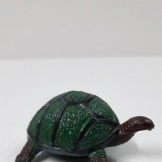 Figure di Gomma e PVC: TORTUGA . REALIZADO POR PECH . SERIE FIERAS - HISTORIA NATURAL . ORIGINAL AÑOS 50 EN GOMA. Lote 225340350