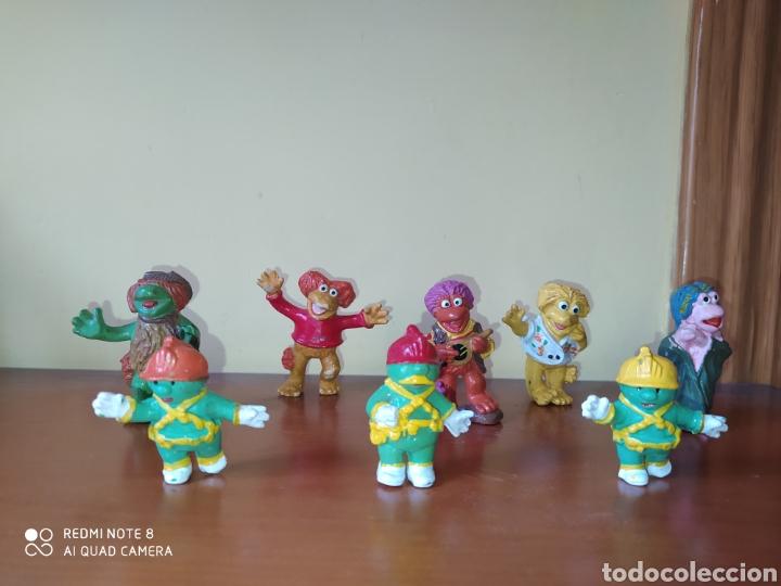 Figuras de Goma y PVC: FIGURA Curri FRAGGLE ROCK LOS FRAGLE PVC AñOS 80 JIM HENSON RARO OCASIÓN UNICA BOOTLEG - Foto 3 - 225516603