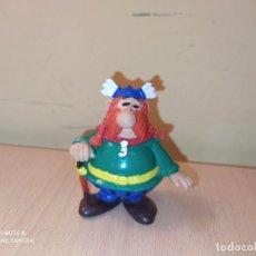 Figuras de Goma y PVC: FIGURAS ABRARACURCIX JEFE ALDEA GALA ASTERIX OBELIX COMICS SPAIN PVC AÑOS 80 ALDEA GALA. Lote 225517145