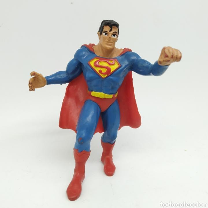 SUPERMAN AÑO 1988 COMICS SPAIN (Juguetes - Figuras de Goma y Pvc - Comics Spain)
