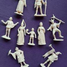 Figuras de Goma y PVC: LA CORTE DEL CASTILLO FEUDAL, SERIE DE REAMSA, REEDICIÓN EN PLÁSTICO MONOCOLOR.. Lote 225053201