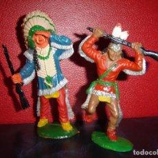 Figuras de Goma y PVC: INDIOS LAFREDO. Lote 225755036