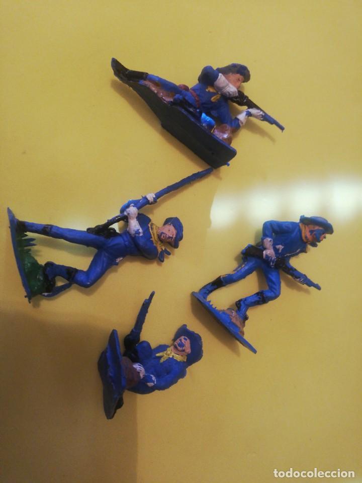 Figuras de Goma y PVC: Americanos federales pech plástico años 70 - Foto 4 - 225762285