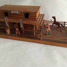 Figuras de Goma y PVC: HOTEL COMANSI AÑOS 60. Lote 225890351