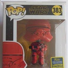 Figuras de Goma y PVC: FUNKO POP! SITH JET TROOPER 383 - STAR WARS - EXCLUSIVO SAN DIEGO COMIC CON 2020 + CAJA PROTECTORA. Lote 225589285