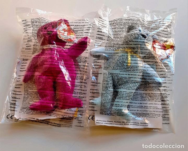 Figuras de Goma y PVC: MCDONALDS 2 FIGURAS HAPPY MEAL OSITOS TY TEENIE - 14.CM ALTO APROX - Foto 2 - 226144220