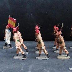 Figuras de Goma y PVC: PECH DESFILE REGULARES GOMA. Lote 226144453