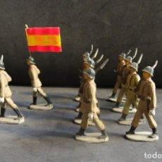 Figuras de Goma y PVC: PECH DESFILE EJERCITO DE TIERRA GOMA. Lote 226145362