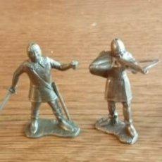 Figuras de Goma y PVC: 6 SOLDADOS MEDIEVALES (COMANSI, JECSAN, REIGON, SOTORRES, LAFREDO). Lote 226220208