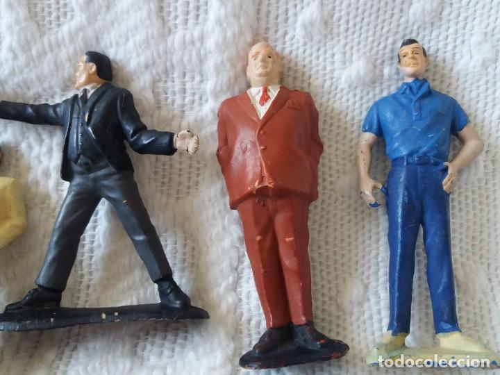 Figuras de Goma y PVC: Lote de 6. Figuras películas de James Bond. Sean Connery. Goldfinger. Marca Gilbert. Años 70. - Foto 9 - 226057825