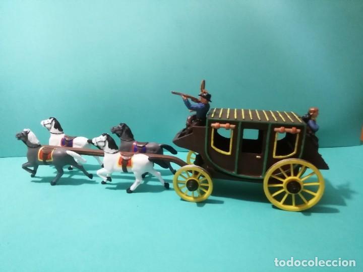 Figuras de Goma y PVC: DILIGENCIA REAMSA-GOMARSA - Foto 2 - 226303980