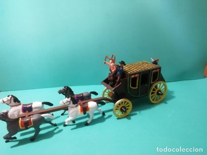 Figuras de Goma y PVC: DILIGENCIA REAMSA-GOMARSA - Foto 3 - 226303980