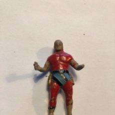 Figuras de Goma y PVC: ESTEREOPLAST HOMBRE ENMASCARADO GOMA LE FALTAN PISTOLAS. Lote 226566385