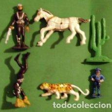 Figuras de Goma y PVC: FIGURAS Y SOLDADITOS DE DIFERENTES CTMS - 12901. Lote 226578550