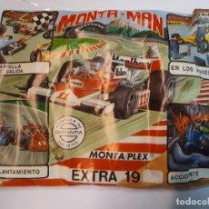 Figurines en Caoutchouc et PVC: SOBRE, MONTAMAN, MONTAPLEX, EXTRA 19. Lote 226766000