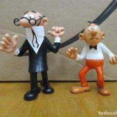 Figuras de Goma y PVC: MORTADELO ( CON SUS GAFAS ) Y FILEMON - COMIC SPAIN 1990 - MUY BUEN ESTADO. Lote 226788015