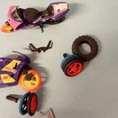 Figuras de Goma y PVC: LOTE MOTOS Y RUEDAS RECAMBIO.. Lote 226814070