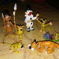 Figuras de Goma y PVC: LOTE DE 7 MUÑECOS PVC DE MARSUPILAMI PLASTOY AÑO 2006 SPIROU Y FANTASIO. Lote 226894405