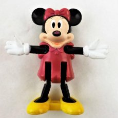 Figuras de Goma y PVC: MINNIE MOUESE ARTICULADA. PLASTICO. Lote 226977545