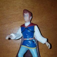 Figuras de Goma y PVC: FIGURA PVC GOMA PRÍNCIPE DE BLANCANIEVES BULLYLAND PINTADA A MANO MUÑECO DISNEY DIBUJOS. Lote 227022780
