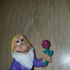 Figuras de Goma y PVC: FIGURA PVC GOMA ENANITO DE BLANCANIEVES DISNEY BULLYLAND PINTADA A MANO MUÑECO COLECCIÓN DIBUJOS. Lote 227027840