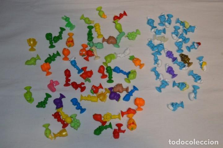 LOTE STIKEEZ LIDL - LOTE VARIADO INCLUYE COLECCION PITUFOS - ¡MIRA LAS FOTOS! (Juguetes - Figuras de Goma y Pvc - Otras)