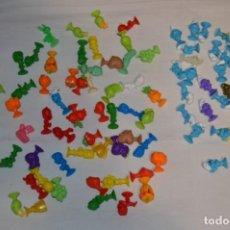 Figuras de Goma y PVC: LOTE STIKEEZ LIDL - LOTE VARIADO INCLUYE COLECCION PITUFOS - ¡MIRA LAS FOTOS!. Lote 227075265