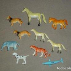 Figuras de Goma y PVC: LOTE VARIOS ANIMALES PVC. Lote 227106425