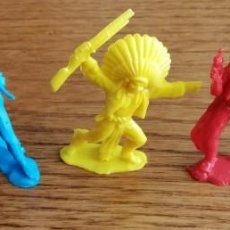 Figuras de Goma y PVC: INDIOS Y VAQUEROS DE REAMSA GOMARSA (COMANSI, SOTORRES, LAFREDO, REIGON). Lote 227468005
