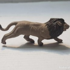 Figuras de Goma y PVC: FIGURA CAPELL ANIMALES SALVAJES LEON GOMA DURA. Lote 227487235