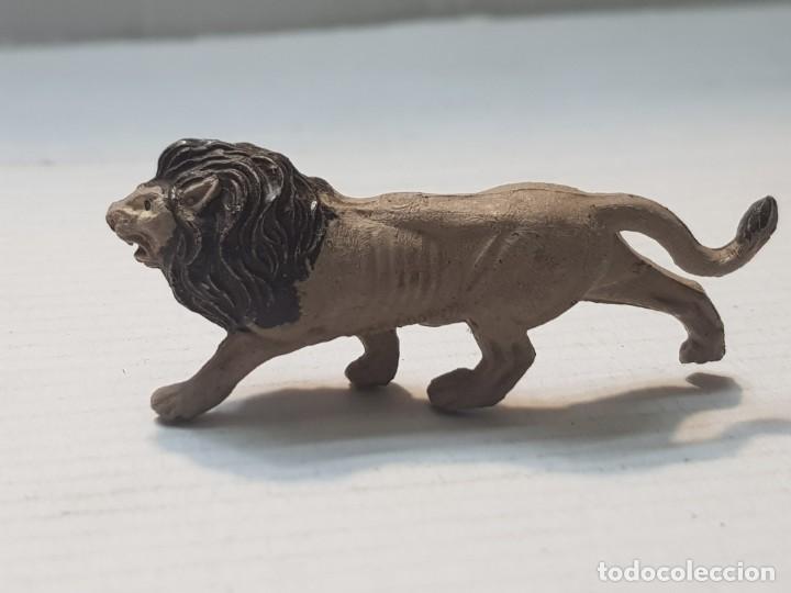 Figuras de Goma y PVC: Figura Capell animales Salvajes Leon goma dura - Foto 2 - 227487235