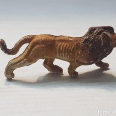 Figuras de Goma y PVC: FIGURA CAPELL ANIMALES SALVAJES LEON GOMA DURA. Lote 227487384