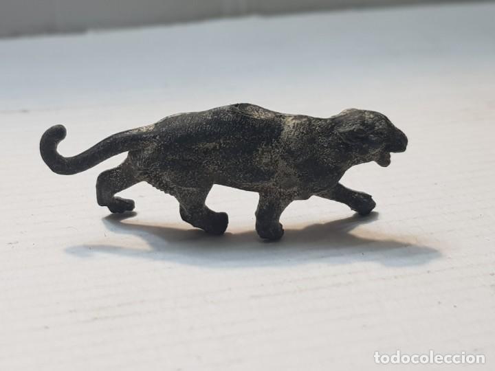 FIGURA CAPELL ANIMALES SALVAJES PANTERA NEGRA GOMA DURA (Juguetes - Figuras de Goma y Pvc - Capell)