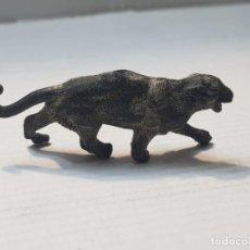 Figuras de Goma y PVC: FIGURA CAPELL ANIMALES SALVAJES PANTERA NEGRA GOMA DURA. Lote 227558355