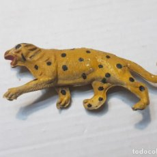 Figuras de Goma y PVC: FIGURA CAPELL ANIMALES SALVAJES LEOPARDO GOMA DURA. Lote 227558845