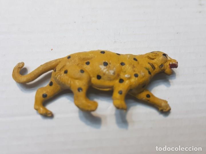 Figuras de Goma y PVC: Figura Capell animales Salvajes Leopardo goma dura - Foto 2 - 227558845