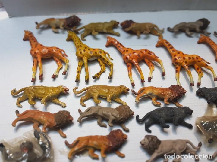Figuras de Goma y PVC: Figura Capell animales Salvajes lote 35 figuras goma dura alguna dificil - Foto 2 - 227561480