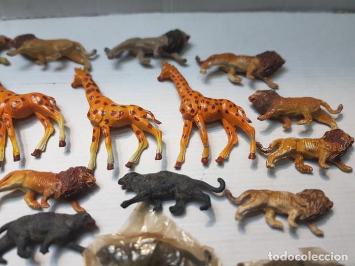 Figuras de Goma y PVC: Figura Capell animales Salvajes lote 35 figuras goma dura alguna dificil - Foto 4 - 227561480