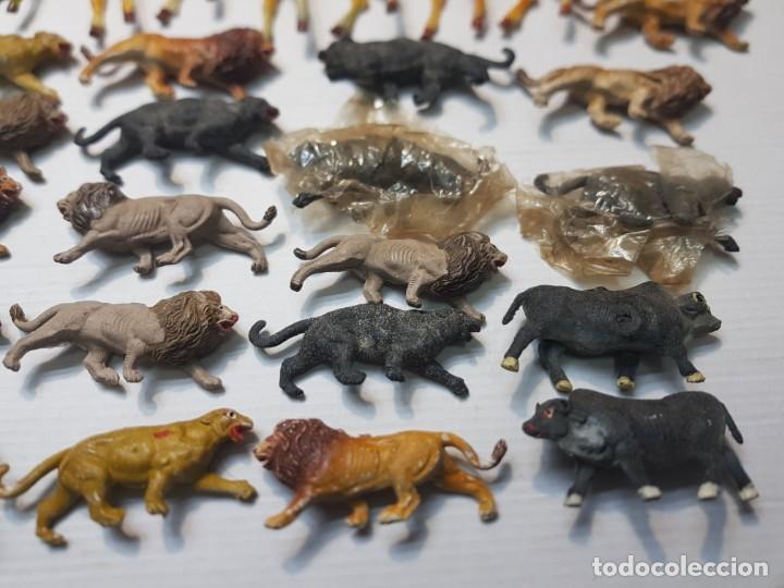 Figuras de Goma y PVC: Figura Capell animales Salvajes lote 35 figuras goma dura alguna dificil - Foto 5 - 227561480
