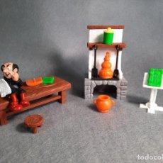 Figuras de Goma y PVC: EL LABORATORIO DE GARGAMEL - PEYO - SCHLEICH. Lote 227588790