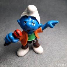 Figuras de Goma y PVC: PITUFO VOCALISTA - PEYO - SCHLEICH. Lote 227589030