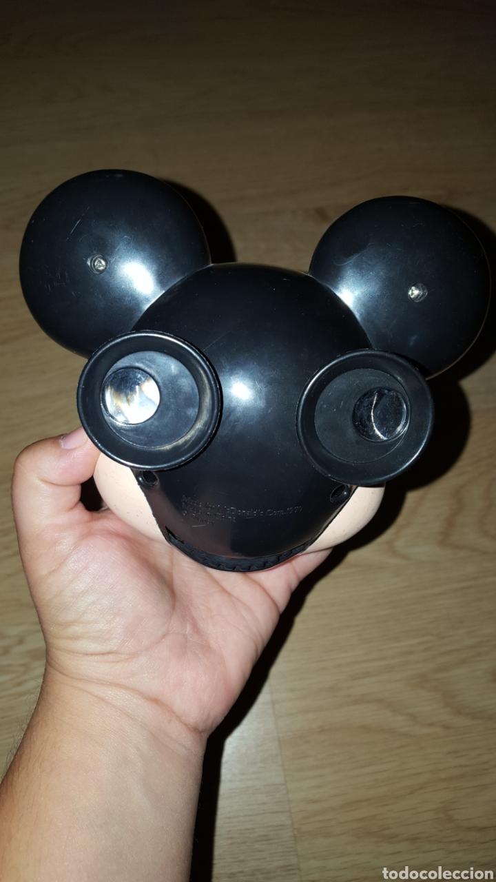 Figuras de Goma y PVC: Gran figura cabeza Mickey Mouse Disney gafas imágenes McDonalds McDonald muñeco colección - Foto 2 - 227598561