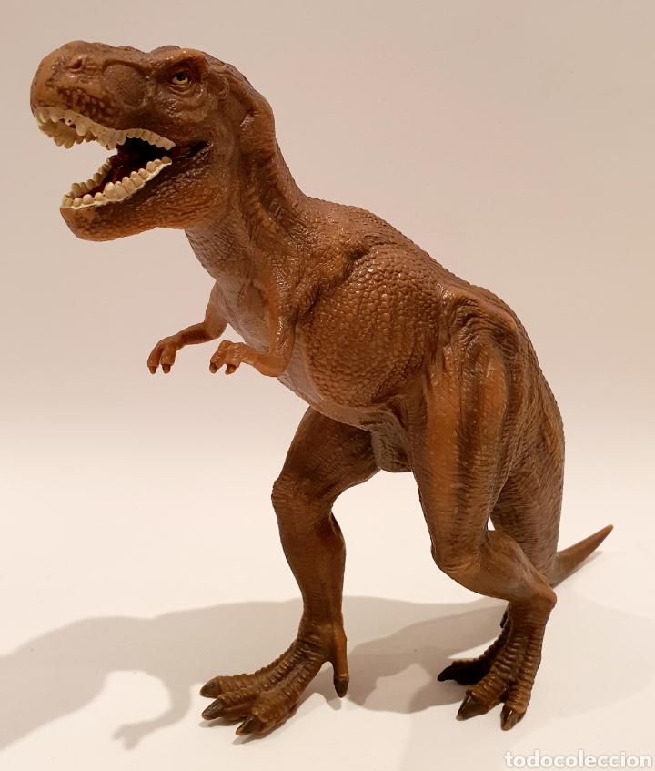 Figuras de Goma y PVC: Tyrannosaurus Rex Schleich 2006 - Foto 2 - 227599886