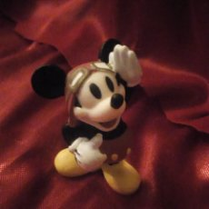 Figuras de Goma y PVC: FIGURA MICKEY MOUSE PILOTO DE AVION DISNEY CHINA.. Lote 227614025
