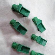 Figuras de Goma y PVC: MONTAPLEX- LOTE DE CAMIONES PERTENCE AL SOBRE 224-AÑOS 70-80-COLOR FOTO. Lote 227671790