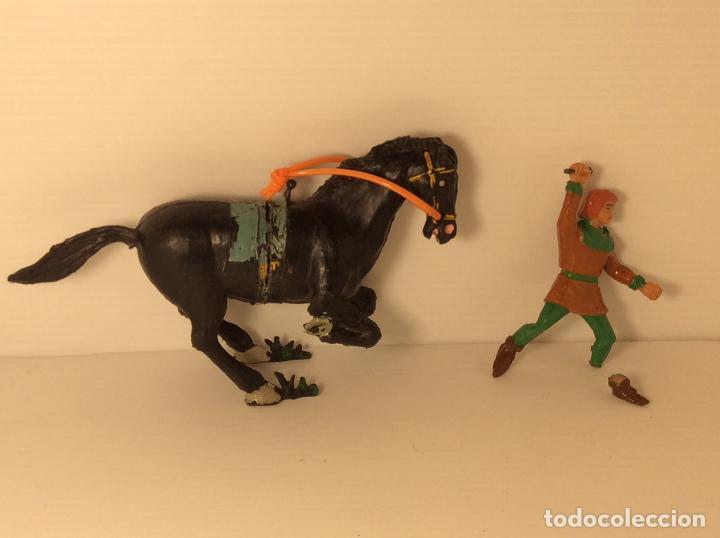 Figuras de Goma y PVC: FIGURA DE CRISPIN A CABALLO DE CAPITAN TRUENO DE ESTEREOPLAST - Foto 7 - 227821645